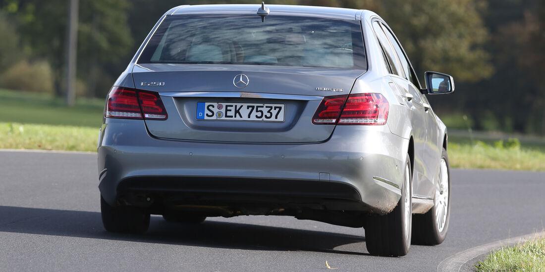 Mercedes E 250 Bluetec, Heckansicht
