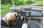 Mercedes E 250 Cabrio, Cockpit, Fahrersicht