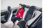 Mercedes E 300 Cabrio, Fondsitz, Beinfreiheit