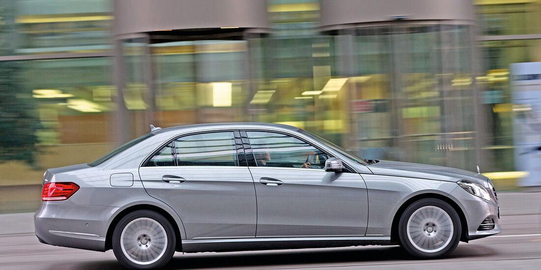 Mercedes E 350 Bluetec, Seitenansicht