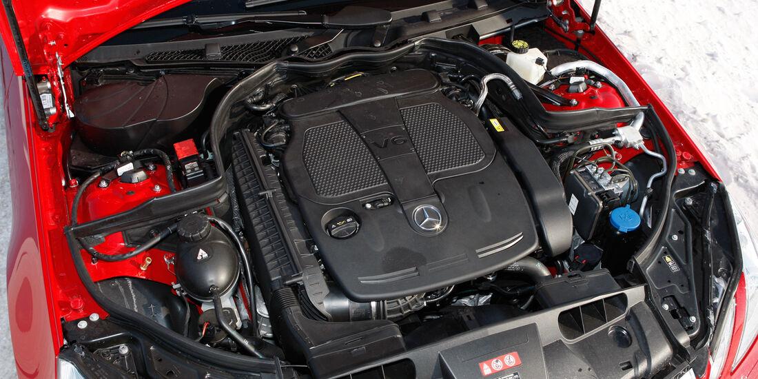 Mercedes E 350 Cabriolet, Motor