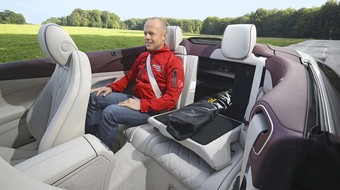 Mercedes, E 400 Cabrio, Interieur