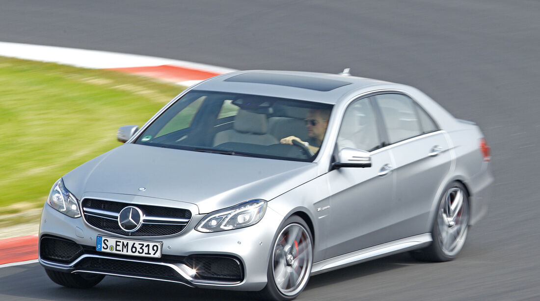 Mercedes E 63 S AMG, Frontansicht