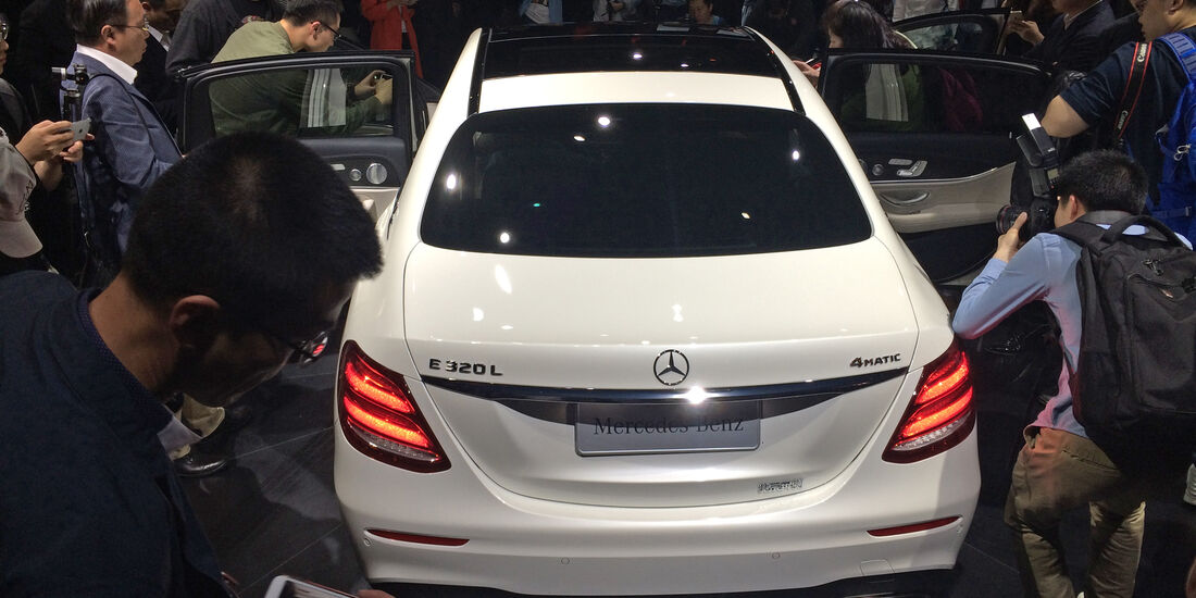 Mercedes E-Klasse Langversion Peking 2016