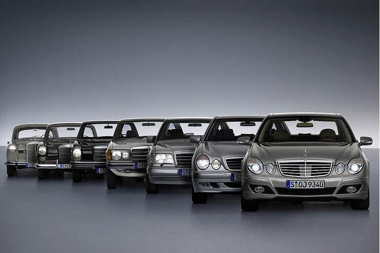 Mercedes E-Klasse Modellpalette