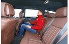 Mercedes E-Klasse T, Rücksitz, Beinfreiheit