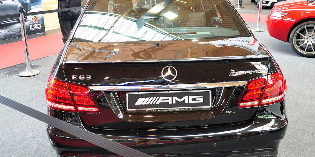 Mercedes E63 AMG, Tuning World Bodensee 2014
