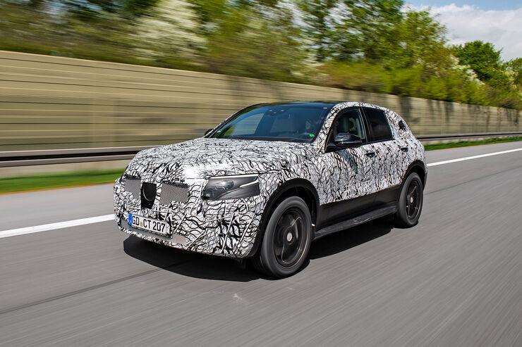Mercedes EQC Prototyp
