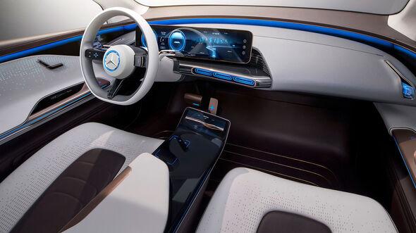 Mercedes Elektroauto SUV Paris Teaser
