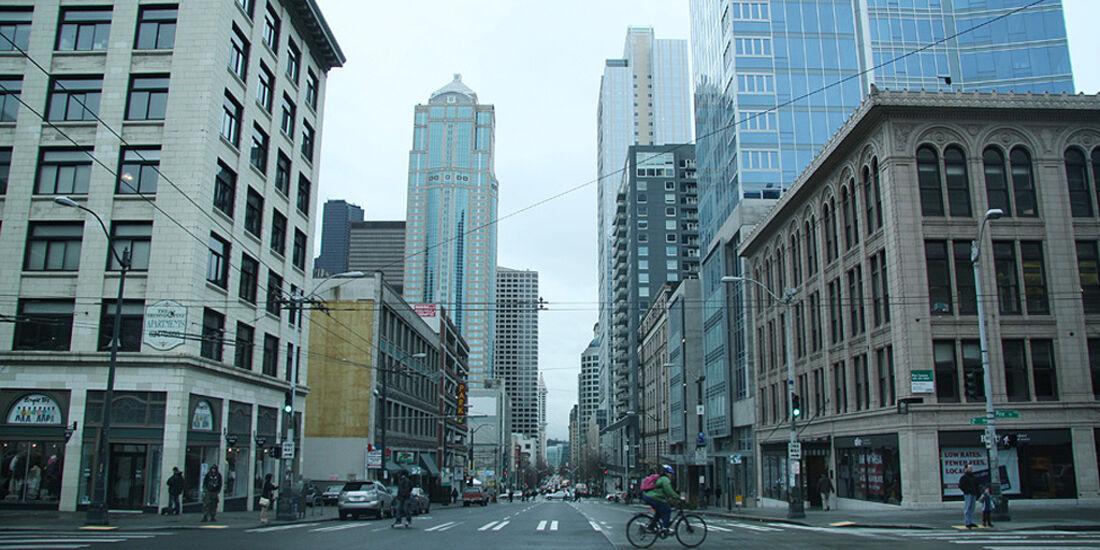 Mercedes F-Cell World Drive, 26. Etappe, Salem-Seattle