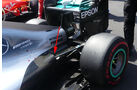 Mercedes - F1 Technik - GP Mexiko 2016
