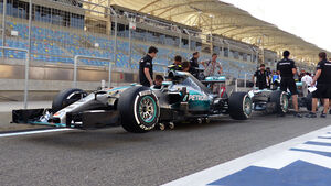 Mercedes - Formel 1 - GP Bahrain - 16. April 2015