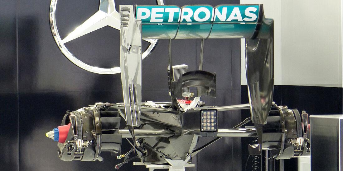Mercedes - Formel 1 - GP Bahrain - Sakhir - 3. April 2014