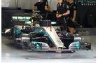 Mercedes - Formel 1 - GP Bahrain - Sakhir - Training - Freitag - 14.4.2017