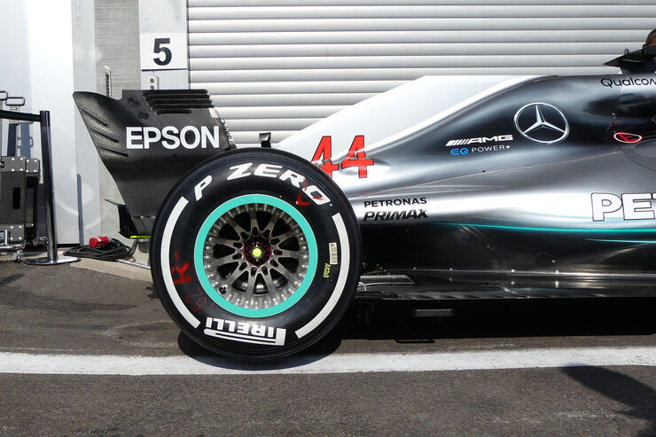 Mercedes - Formel 1 - GP Belgien - Spa-Francorchamps - 23. August 2018
