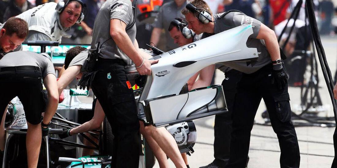 Mercedes - Formel 1 - GP China - 12. April 2013