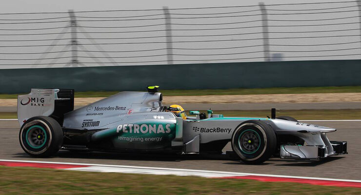 Mercedes - Formel 1 - GP China - 13. April 2013