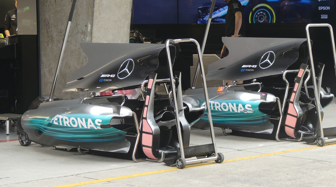 Mercedes - Formel 1 - GP China - Shanghai - 6.4.2017