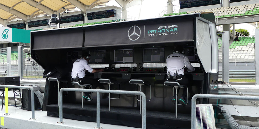 Mercedes - Formel 1 - GP Malaysia - Sepang - Donnerstag - 29.9.2016