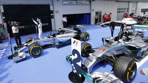 Mercedes - Formel 1 - GP Österreich 2014