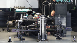 Mercedes - Formel 1 - GP Russland - 28. April 2016