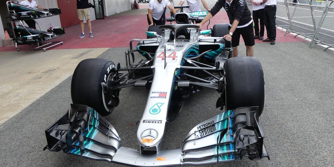 Mercedes - Formel 1 - GP Spanien - Barcelona - 10. Mai 2018