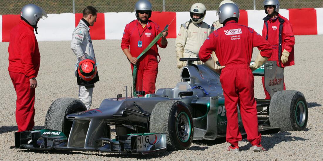 Mercedes - Formel 1-Test - Barcelona - 2012