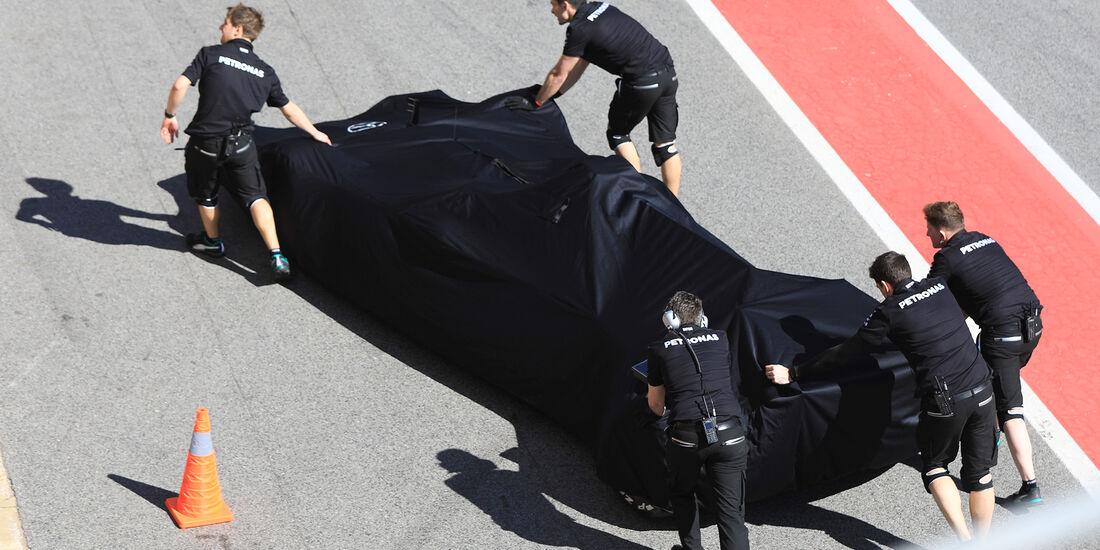 Mercedes - Formel 1 - Test - Barcelona - 7. März 2017