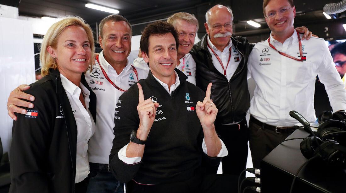 Mercedes-Führungsriege - Formel 1 - GP Spanien - Barcelona - 12. Mai 2018