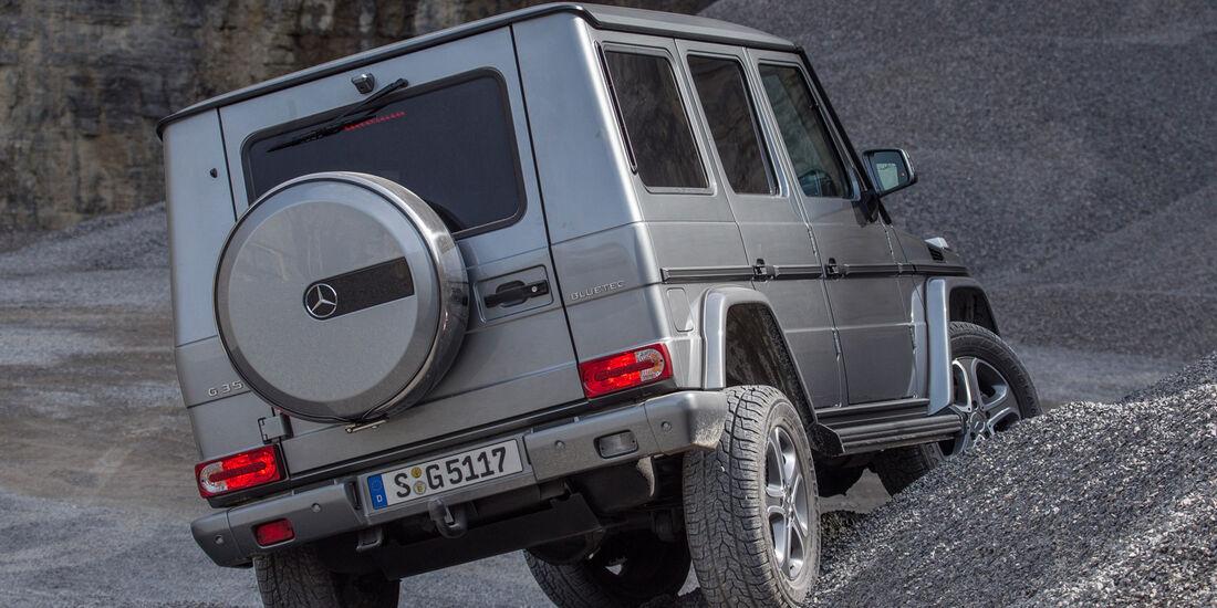 Mercedes G 350, Heckansicht