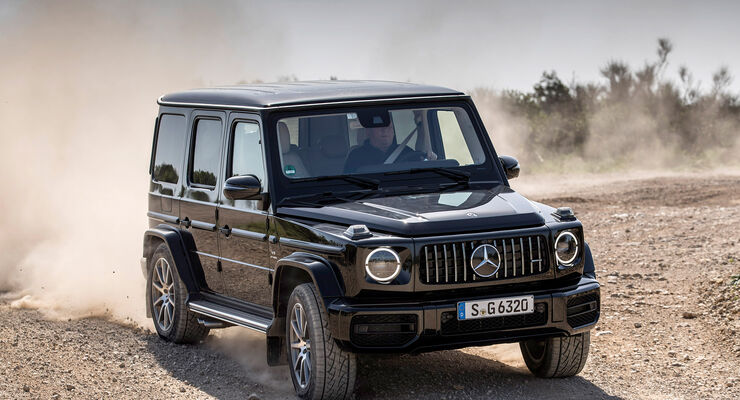 Mercedes G63 2018 >> Neue Mercedes G-Klasse (2018): Test, Bilder, Preis, Daten - auto motor und sport