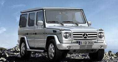 Mercedes G-Klasse Offroad Challenge