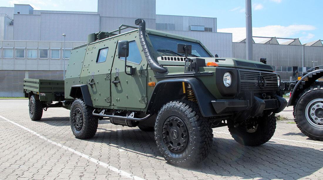Mercedes G LAPV 6.1 Militär Military Eurosatory