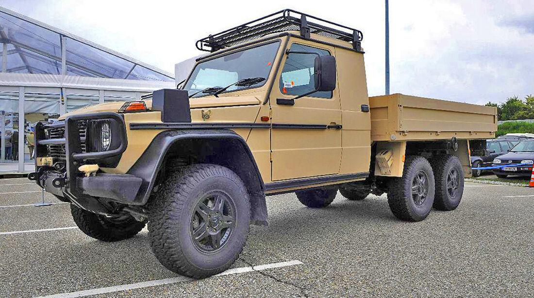 Mercedes G Militär 6x6