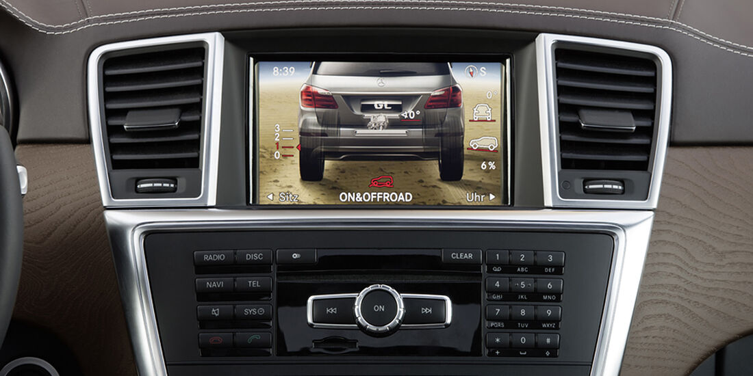 Mercedes GL 2012, Cockpit