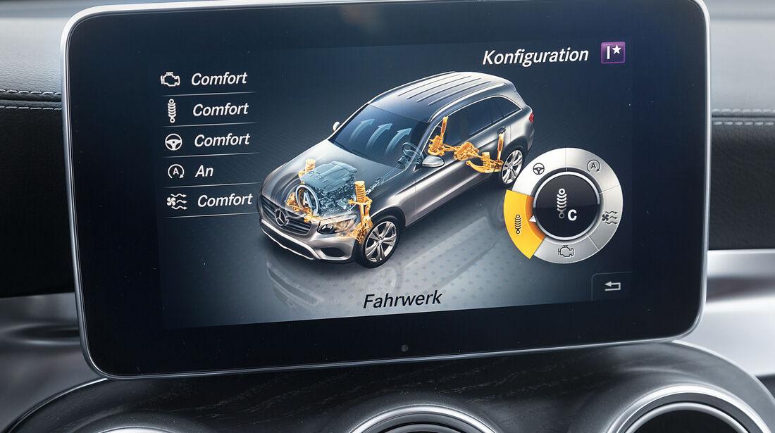 Mercedes GLC 250 d 4Matic, Monitor