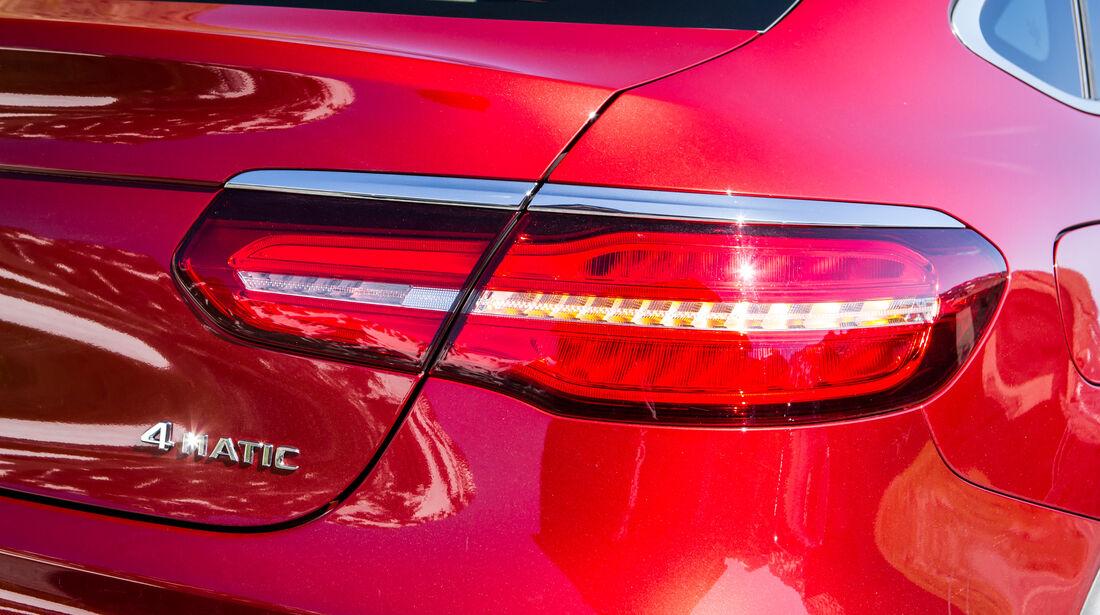Mercedes GLC Coupé, Heckleuchte