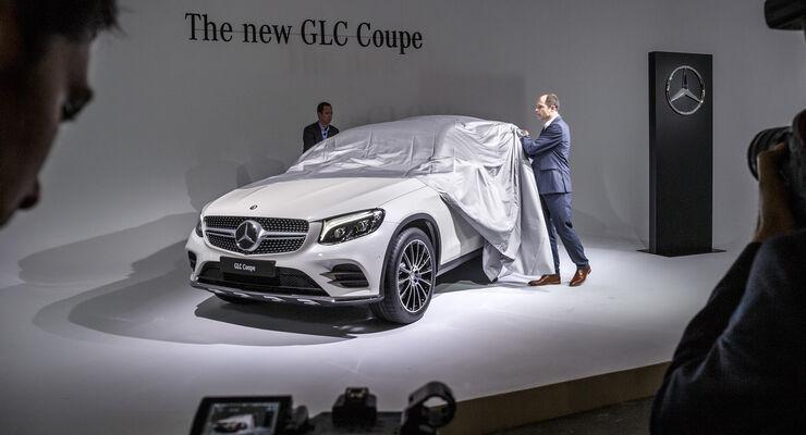 Mercedes GLC Coupé, New York Auto Show 2016, Messe