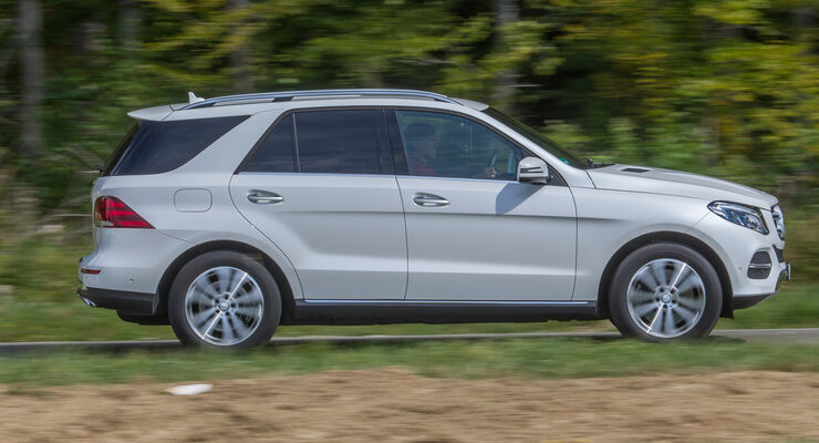 Mercedes GLE 250 d, Seitenansicht
