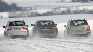 Mercedes GLK 220 CDI, Audi Q5 2.0 TDI, BMW X3 20 d
