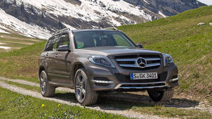 Mercedes GLK 220 CDI BlueEfficiency 2012 Fahrbericht