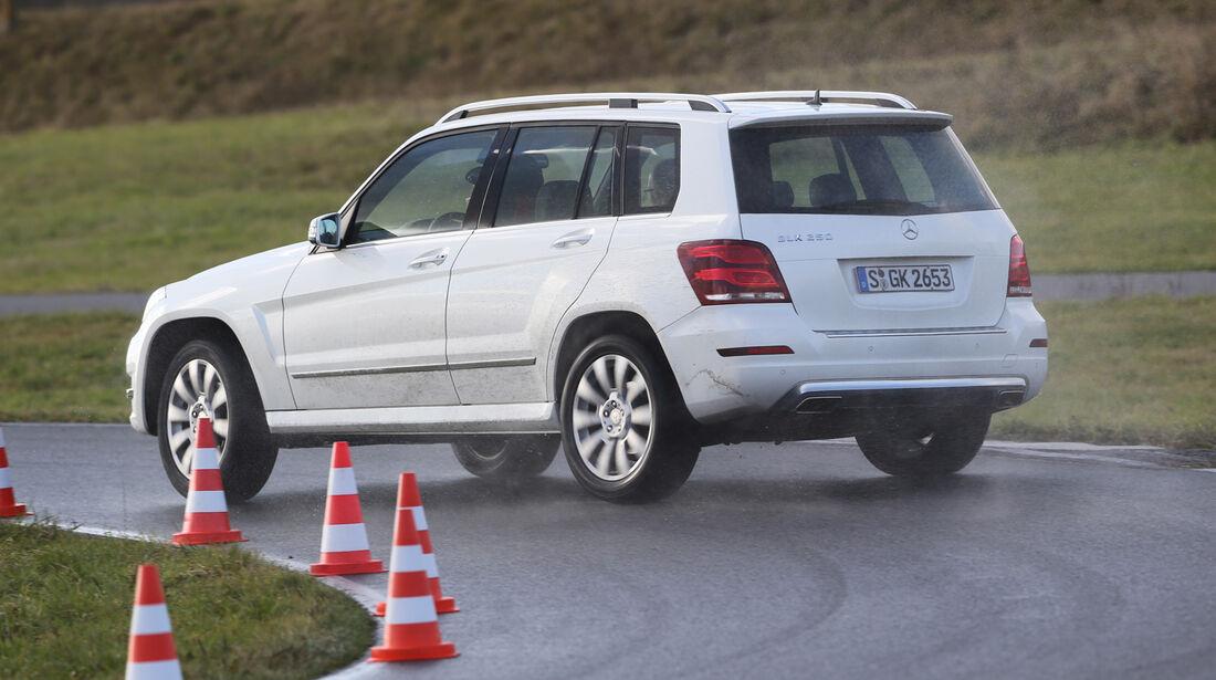 Mercedes GLK, Heckansicht