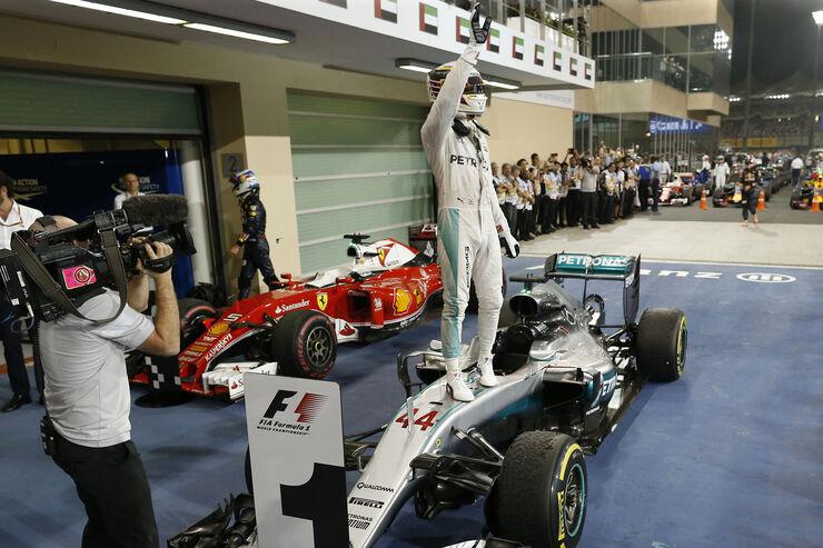 Mercedes - GP Abu Dhabi 2016