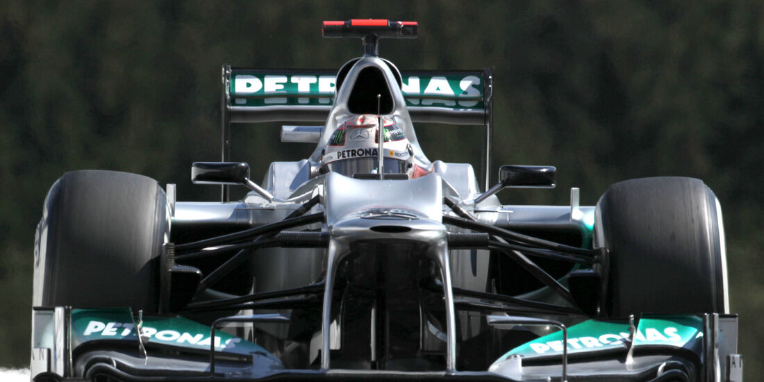Mercedes GP Belgien 2012