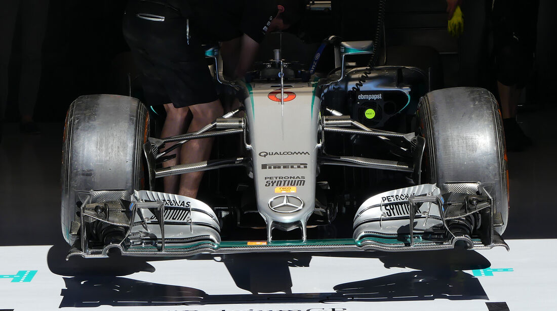 Mercedes - GP Belgien 2016 - Spa-Francorchamps - Donnerstag - 25.8.2016