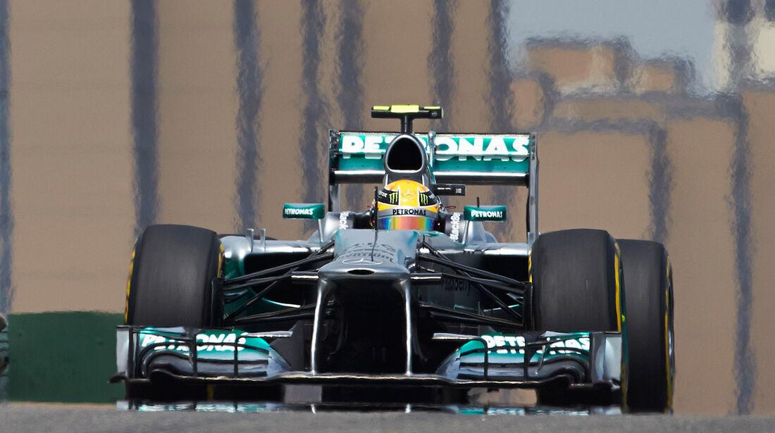 Mercedes GP China 2013
