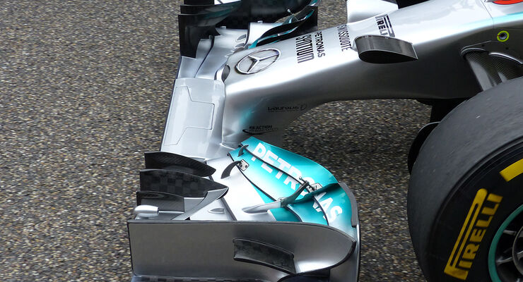 Mercedes - GP China 2014 - Technik