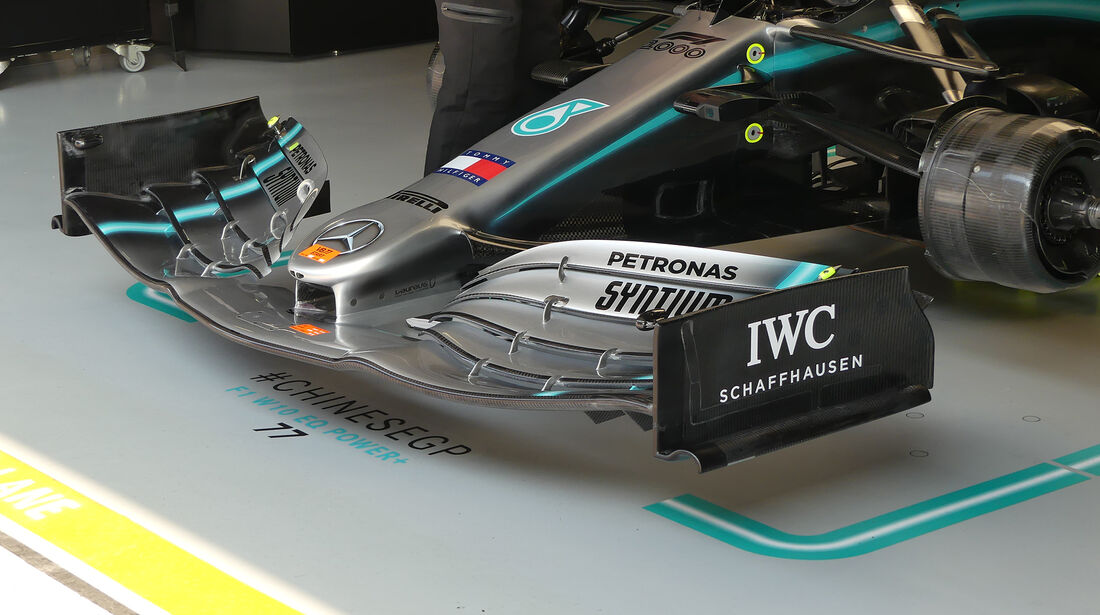 Mercedes - GP China - Shanghai - Formel 1 - Freitag - 12.4.2019