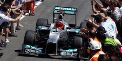Mercedes GP Europa 2012