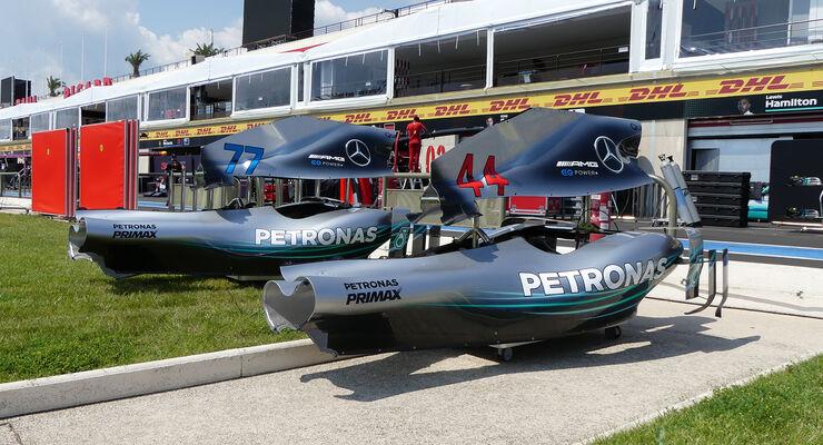 GP Frankreich Donnerstag-Check: Alter neuer Motor im Mercedes ...